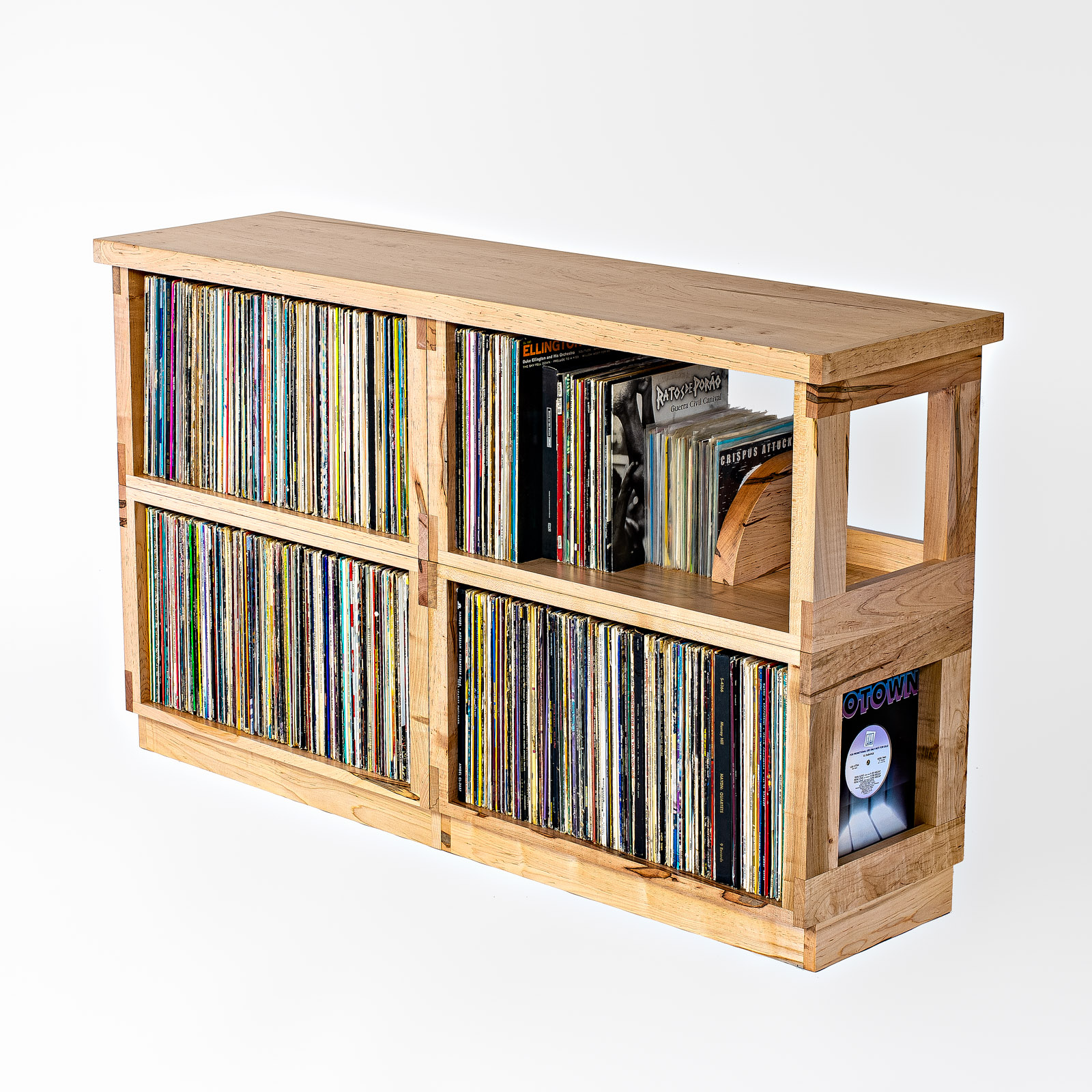 Double Wide Maple Heirloom LP Shelf