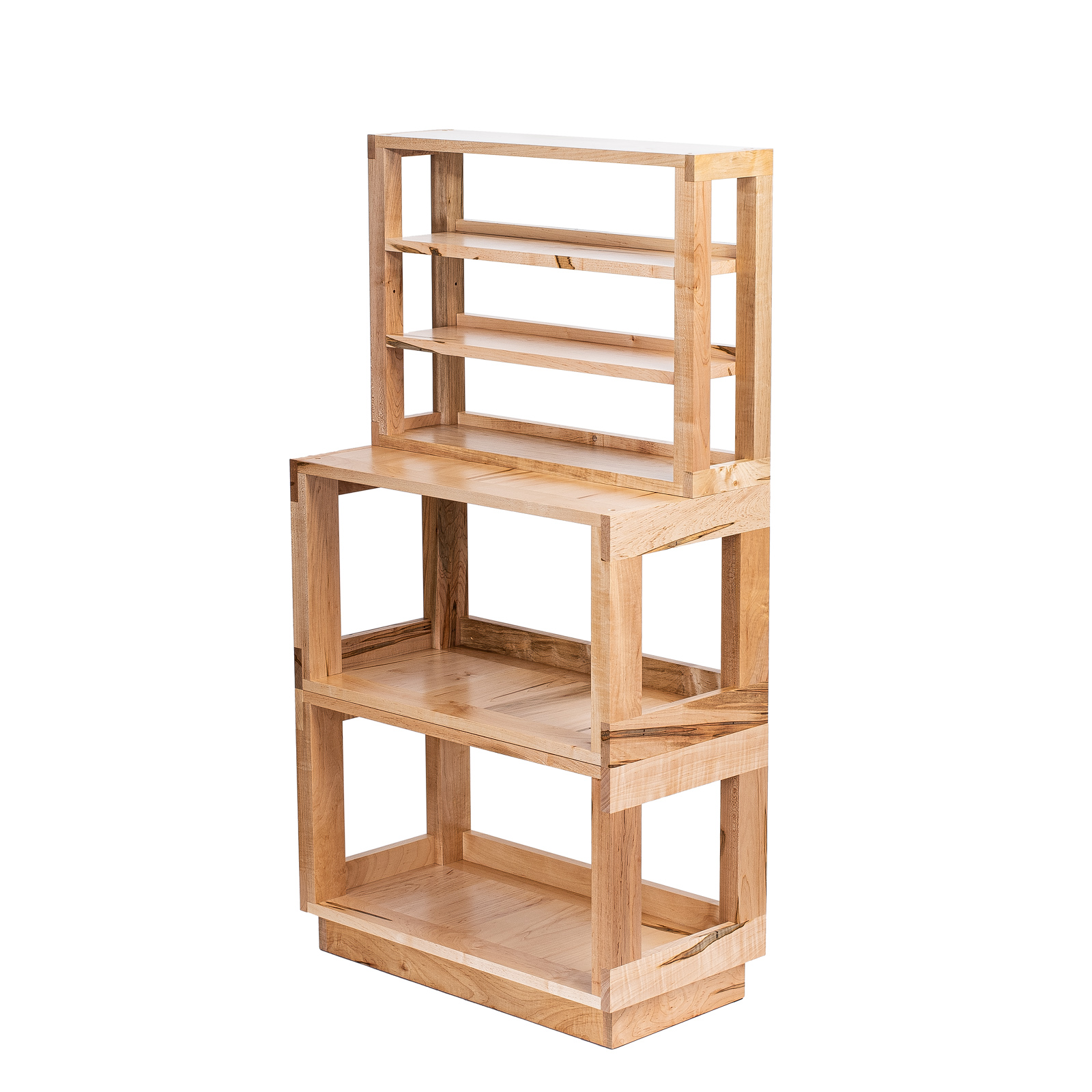 Maple Multilevel Shelf