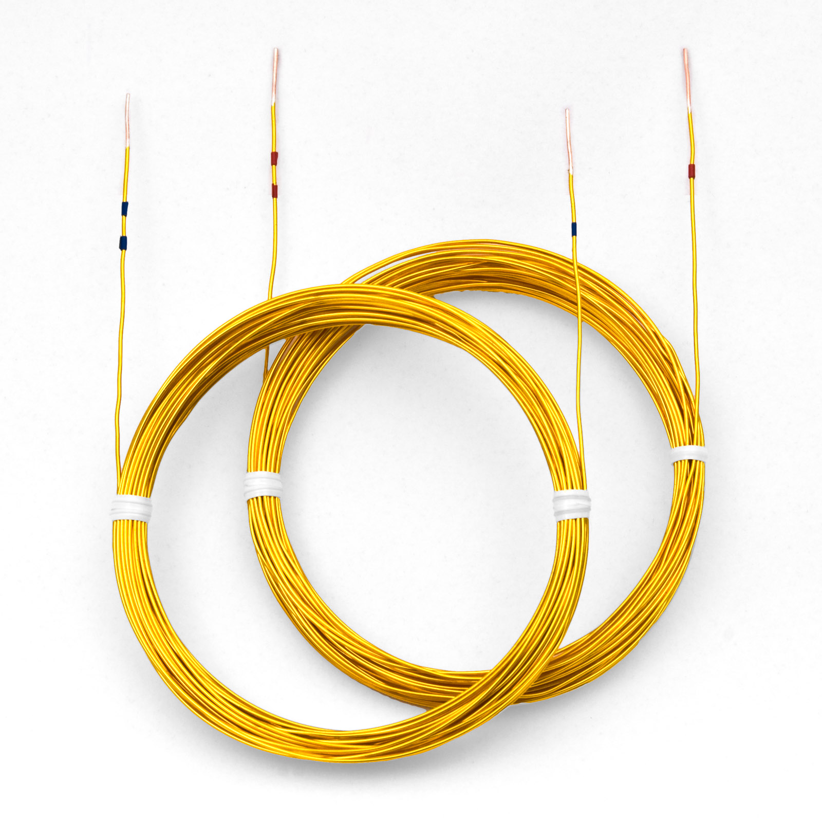 Golden Parallel Speaker Cables