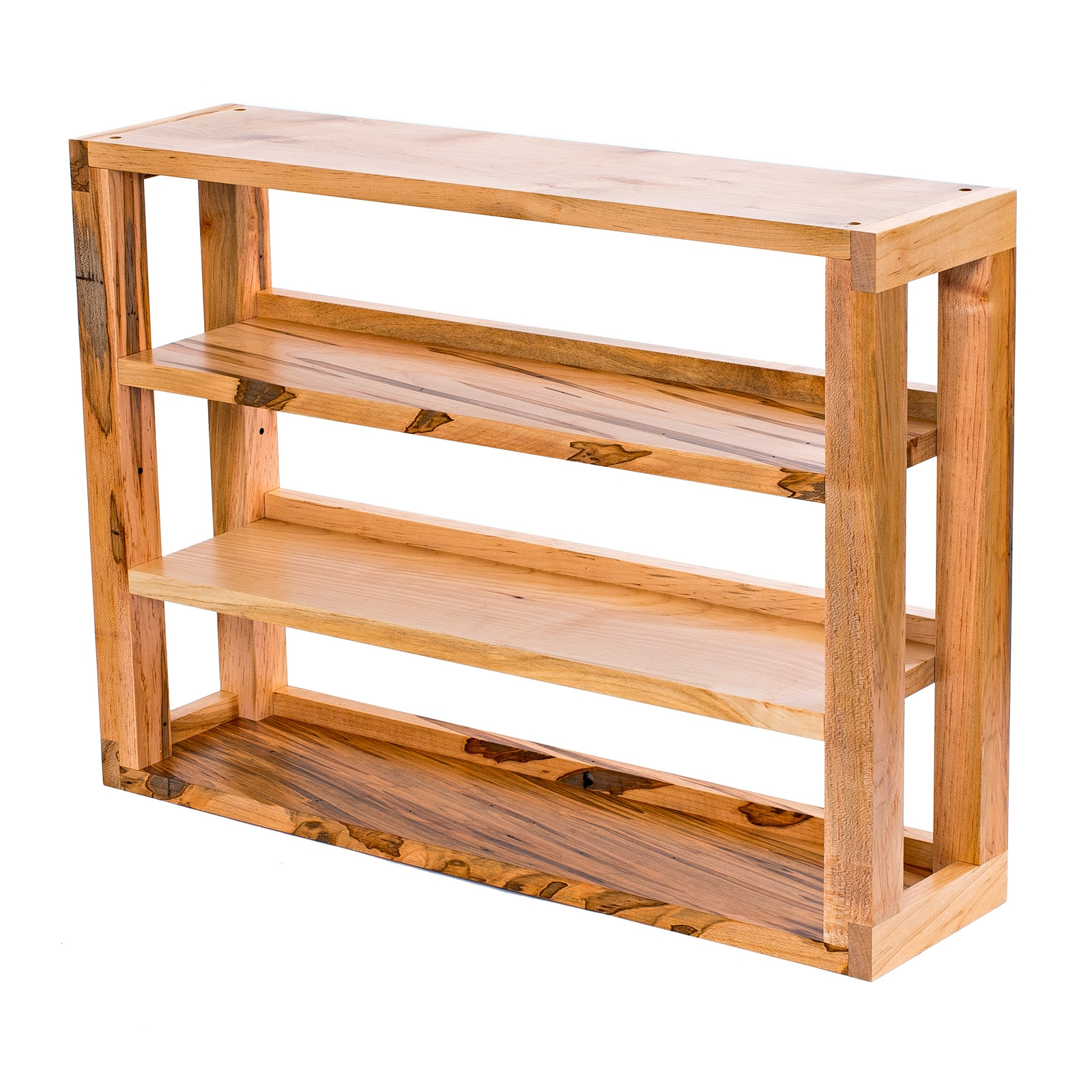 Ambrosia Maple 3-Tier Media Shelves